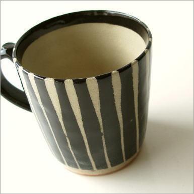 黒十草マグカップ