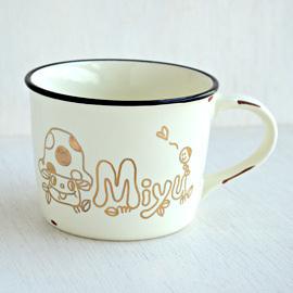 名入れホーロー風マグカップ