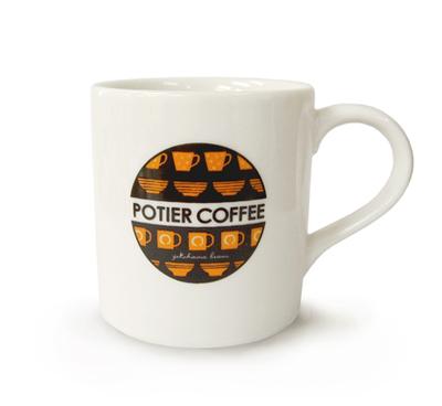 ポティエコーヒーマグカップ