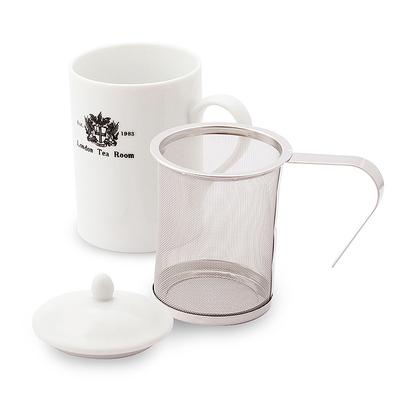 茶漉し付ティーマグカップ