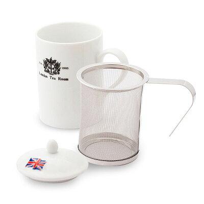 茶漉し付きティーマグカップ
