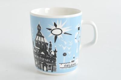 マリメッコHELSINKIマグカップ