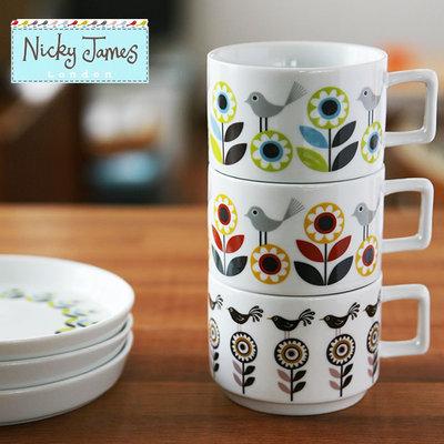 Nicky Jamesカップ&ソーサー
