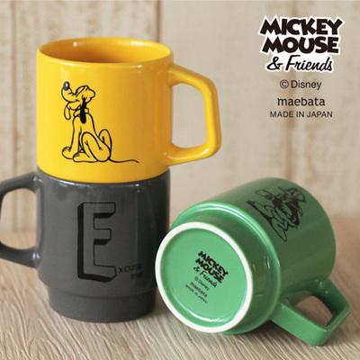 ディズニー・イニシャルマグカップ