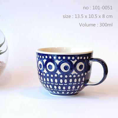 ポーリッシュ・ポタリー・マグカップ