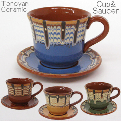 トロヤン陶器コーヒーカップ