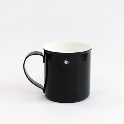 ツバメ琺瑯マグカップ