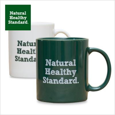 Natural Healthy Standard.マグカップ