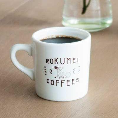 ロクメイコーヒー・マグカップ