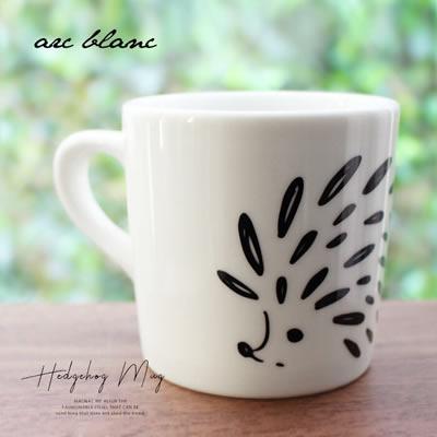 ハリネズミマグカップ