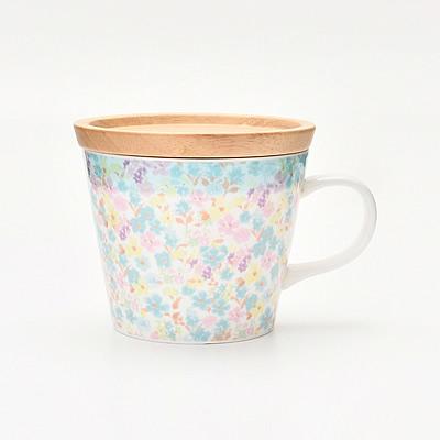 アフタヌーンティー・蓋付きマグカップ
