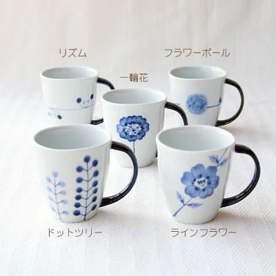 flowersマグカップ