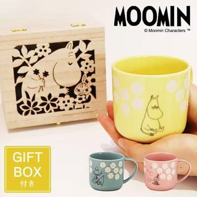 ムーミン・木箱入りマグカップ