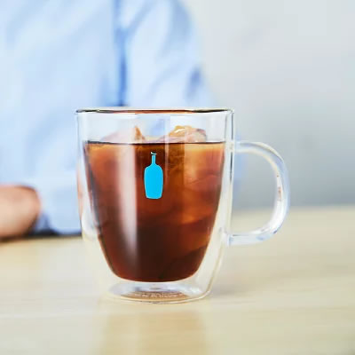 ブルーボトルコーヒー・ダブルウォールグラスマグ